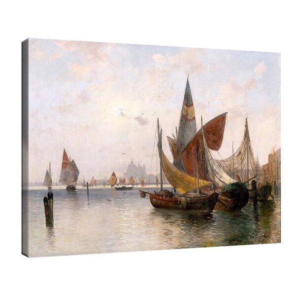 Адолф Кауфман - Във Венецианската лагуна №11240