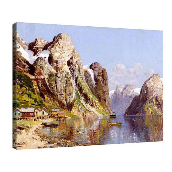 Адолф Кауфман - Фиорден пейзаж №11262