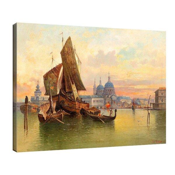 Карл Кауфман - Венецианска сцена №11277