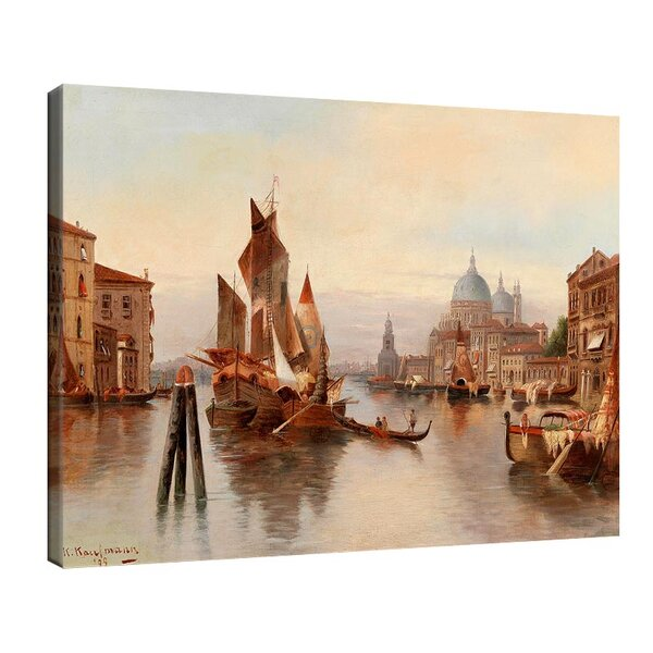 Карл Кауфман - Венецианска сцена №11278