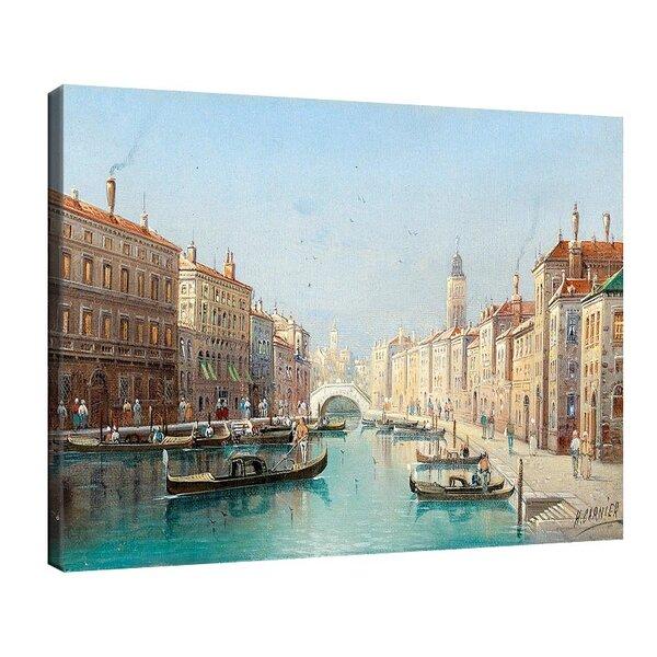 Карл Кауфман - Венецианска сцена №11279