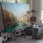Карл Кауфман - Венецианска сцена №11278-Copy