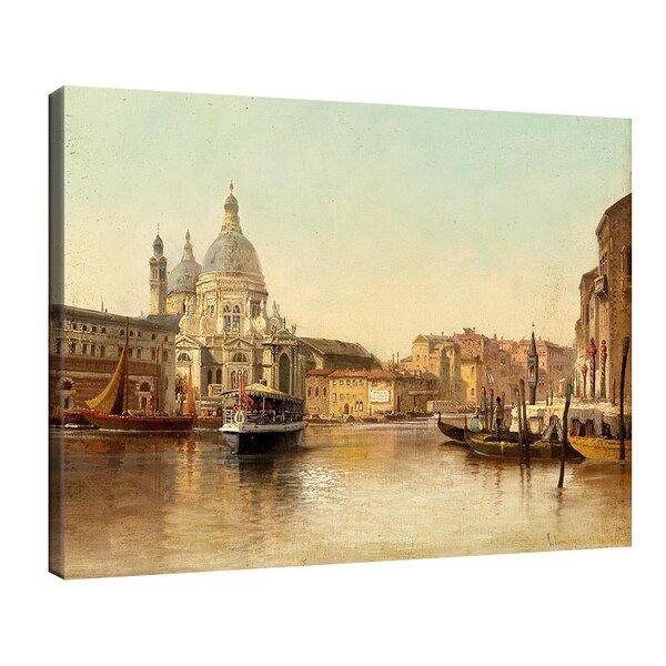 Карл Кауфман - Венеция, Гранд канал с изглед към Санта Мария дела Салюте №11283