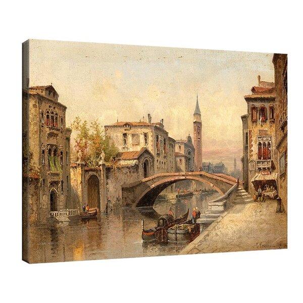 Карл Кауфман - Венеция, мотив от канала №11286