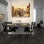 Карл Кауфман - Венеция, изглед към Санта Мария дела Салюте №11285-Copy