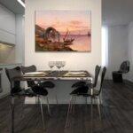 Карл Кауфман - Голям фиорден пейзаж, подписан с псевдонима J. Rollin №11288-Copy