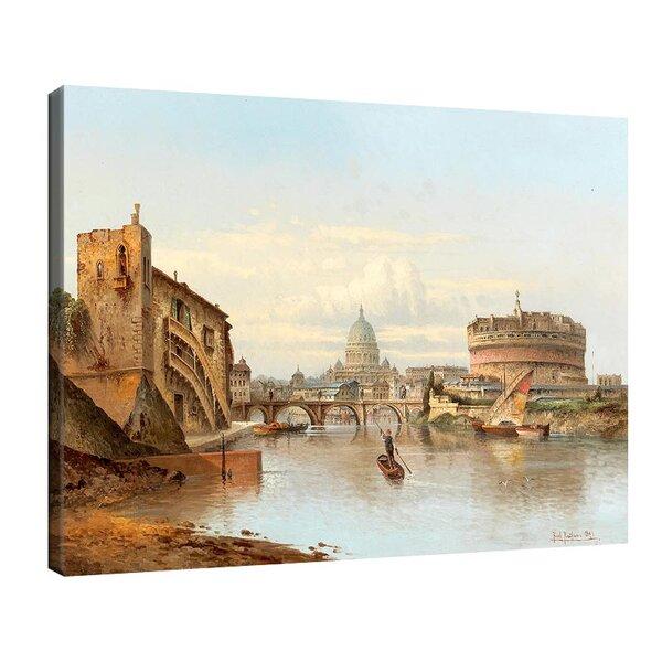 Карл Кауфман - Замъка Сант Анджело в Рим №11290