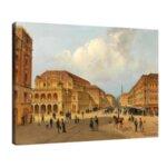 Карл Кауфман - Изглед към Везувий №11291-Copy