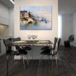 Карл Кауфман - Лунна нощ над Венеция №11294-Copy