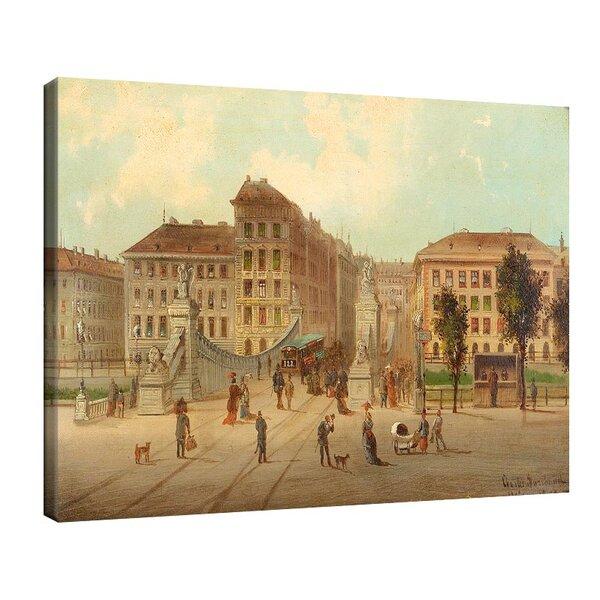 Карл Кауфман - Мостът Асперн във Виена №11296