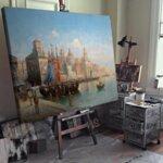 Карл Кауфман - Мотив от Венеция №11298-Copy
