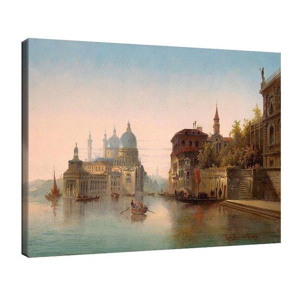 Карл Кауфман - Част от Венеция, подписана с псевдонима Charles Marchand Vienne №11312