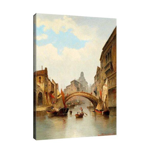 Карл Кауфман - Мотив от Венеция, подписан с псевдонима Charles Marchand №11322