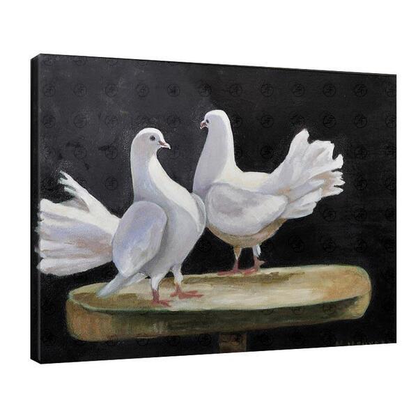 Мая Ценкова - Бели гълъби на пиедестал №11325