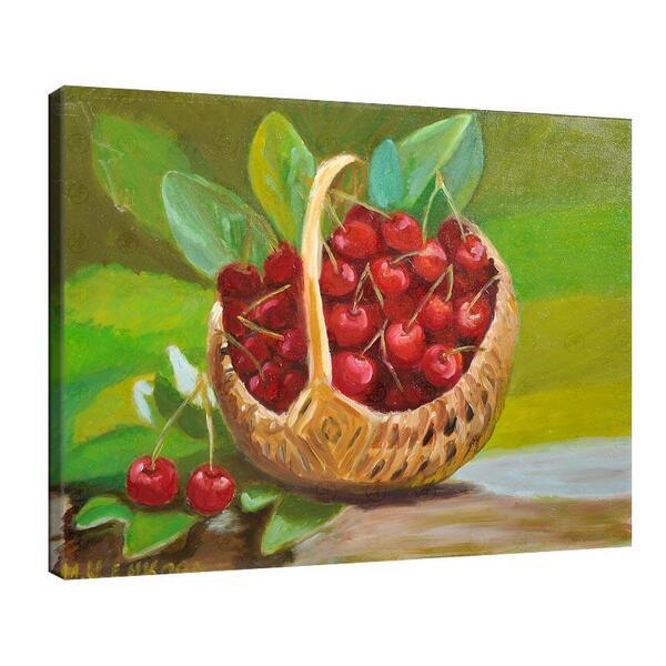 Мая Ценкова - Симпатична кошничка с череши №11334