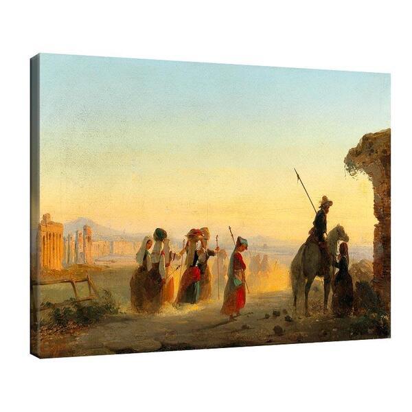 Иполито Кафи - Рим, Виа Апия призори №11362