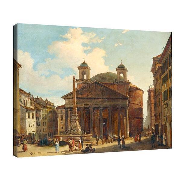 Иполито Кафи - Рим, Пантеона №11363