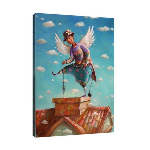 Мариана Калъчева - Ангел на покрива  №11434