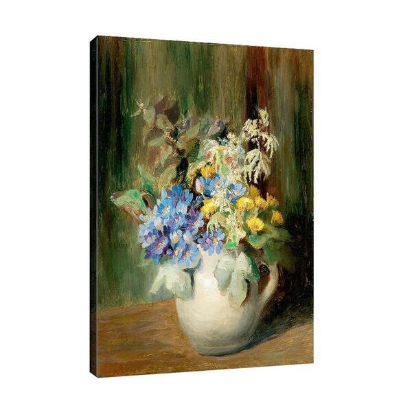 Олга Уизингър - Флориан - Букет от цветя в глинен съд №11450