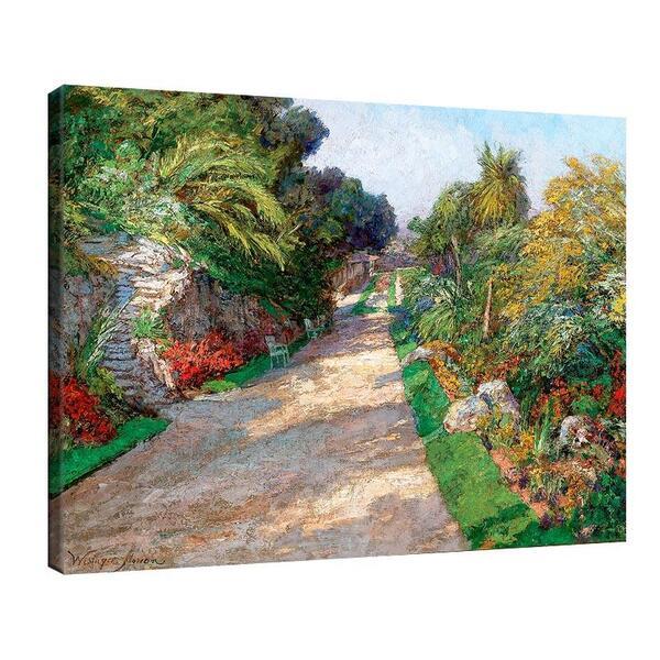 Олга Уизингър - Флориан - Градина на хотел Ривиера Палас до Монте Карло, 1906 г. №11460