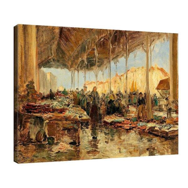 Олга Уизингър - Флориан - Рибния пазар във Венеция №11464