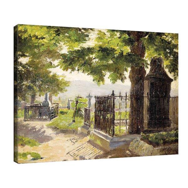 Мари Егнер - Гробище с дървета №11472