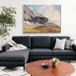 Мари Егнер - Планински пейзаж №11481