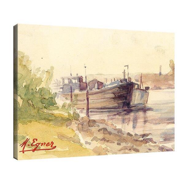 Мари Егнер - Пристан с лодка №11483