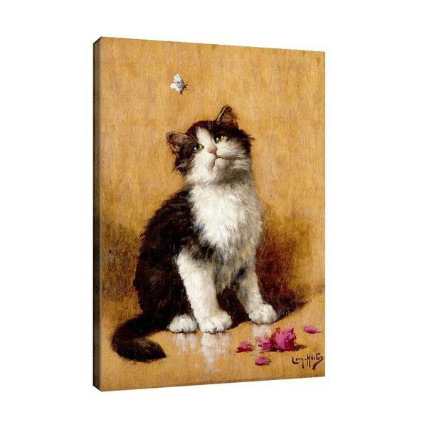 Леон Юбер - Котка и пеперуда №11500