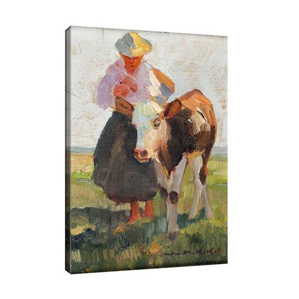 Деметър Коко - Съпругата на фермера с теле №11521