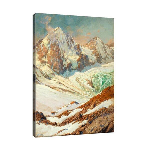 Георг Джани - Планински пейзаж №11542