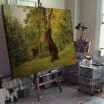 Фридрих Гауерман - Дърво в края на гората №11548