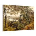 Фридрих Гауерман - Изглед към Дунав от Бизамберг №11549