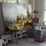 Фридрих Гауерман - На планинските пасища №11555