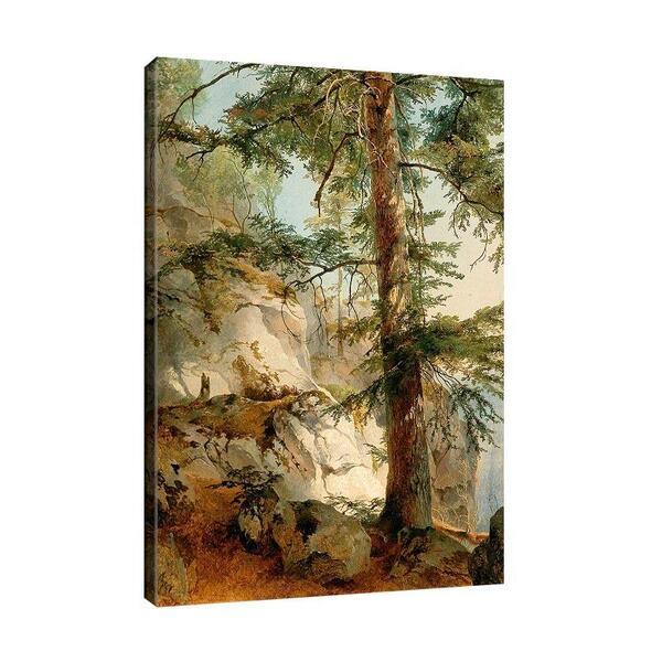 Фридрих Гауерман - Планински склон №11563