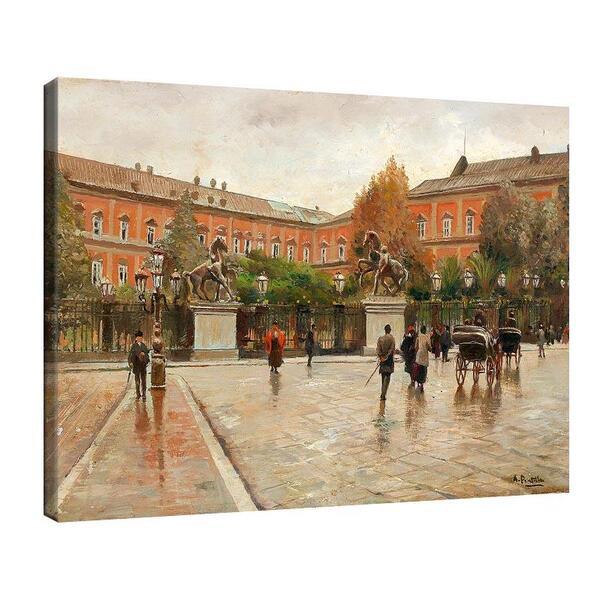 Атилио Пратела - Кралския дворец в Неапол №11573