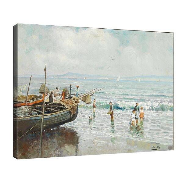 Атилио Пратела - Морска сцена №11578
