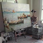 Атилио Пратела - Неаполитански рибари №11579