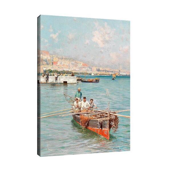 Атилио Пратела - Неополитански рибари №11584
