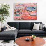 Анри Матис - Цветен изглед №11633