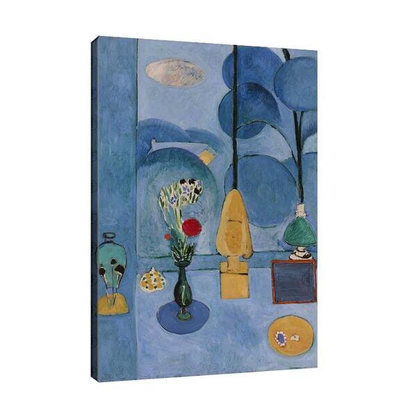 Анри Матис - Синият прозорец №11637