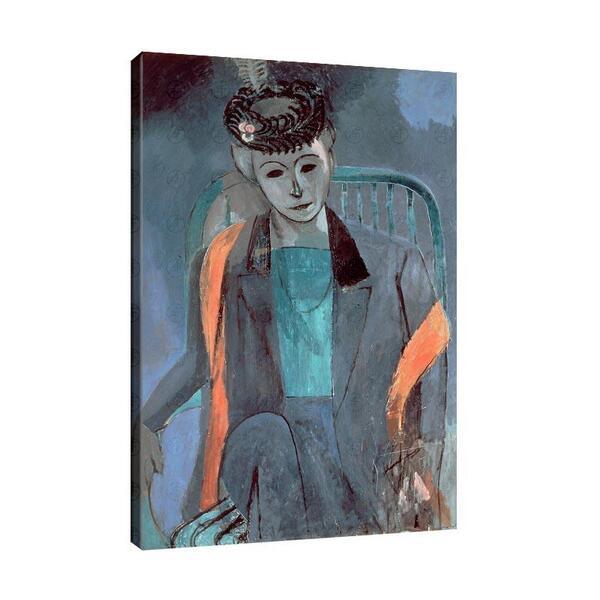 Анри Матис - Портрет на жената на художника №11638