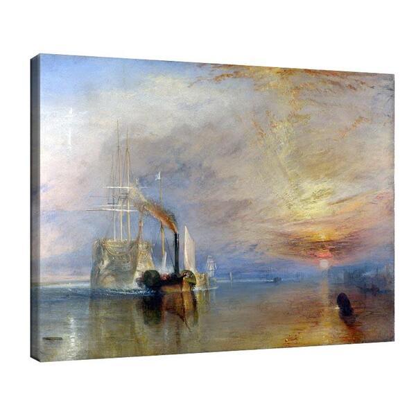Джоузеф Търнър - Бойният Темерей теглен към последното си пристанище, за да бъде унищожен №11639