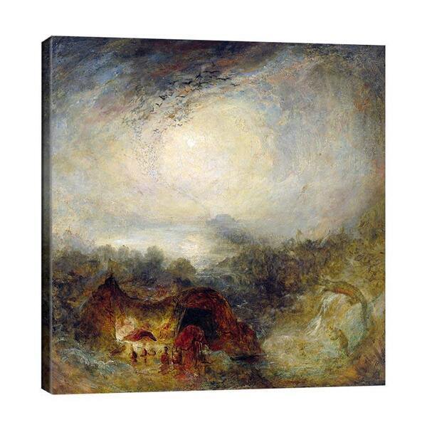 Джоузеф Търнър - Вечерта на потопа №11656