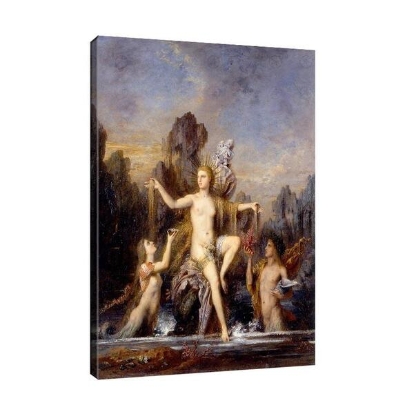 Гюстав Моро - Венера се ражда от морето №11658