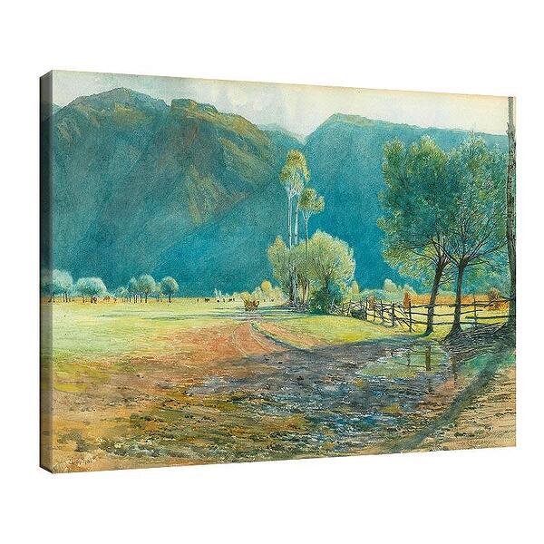 Уго Шарлемон - Мотив от долината на Ецхтал в Южен Тирол №11699