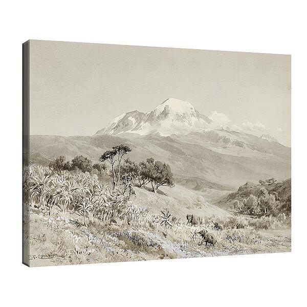 Едуард Комптън - Африкански пейзаж №11708