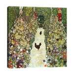 Густав Климт - Градинска алея с кокошки