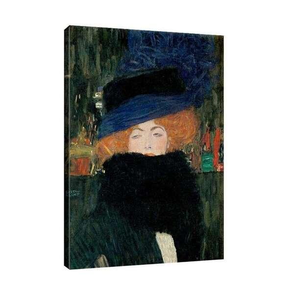 Густав Климт - Дамата с шапката №7327