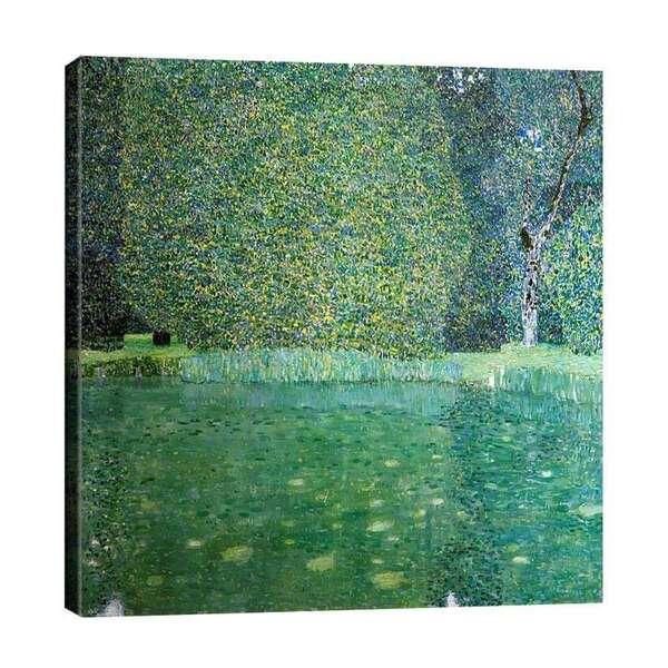 Густав Климт - Езерце в двореца Камер №7346